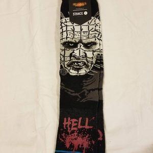 Stance socks pinhead hellraiser Large new horror
